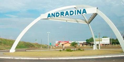 11 de Julho – Entrada da cidade — Andradina (SP) — 80 Anos em 2017.