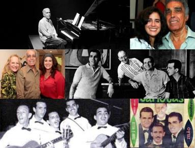 11 de Julho – Lúcia Veríssimo - 1958 – 59 Anos em 2017 - Acontecimentos do Dia - Foto 10 - com o pai, Severino Filho, do grupo 'Os Cariocas'.
