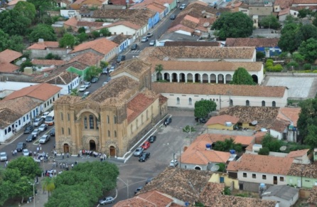 13 de Julho – Foto aérea da Catedral — Porto Nacional (TO) — 156 Anos em 2017.