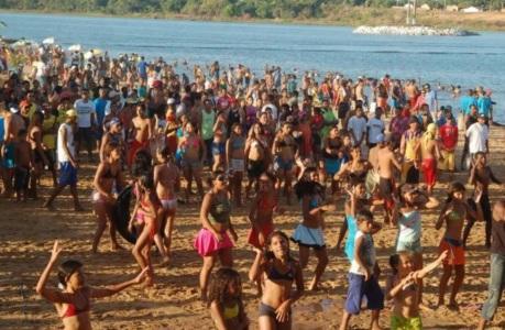 13 de Julho – Praia de Porto Real, uma das mais tradicionais do Tocantins — Porto Nacional (TO) — 156 Anos em 2017.