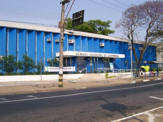 14 de Julho - A Câmara Municipal de Campinas se localiza no bairro Ponte Preta — Campinas (SP) — 243 Anos em 2017.