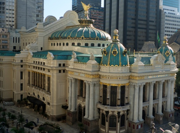 14 de Julho — 1909 — Inauguração do Teatro Municipal do Rio de Janeiro.