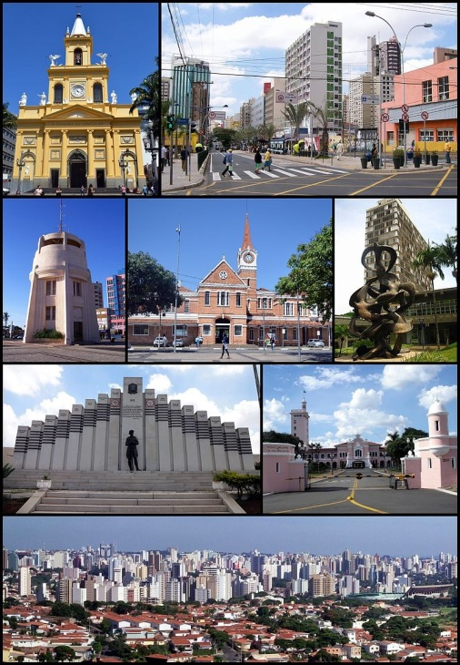 14 de Julho - Pontos turísticos da cidade — Campinas (SP) — 243 Anos em 2017.