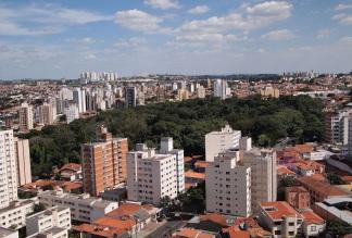 14 de Julho - Vista aérea do Bosque dos Jequitibás — Campinas (SP) — 243 Anos em 2017.