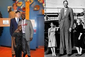 15 de Julho - 1940 - Morre Robert Wadlow, homem mais alto da história, que media 2,72 metros de altura.