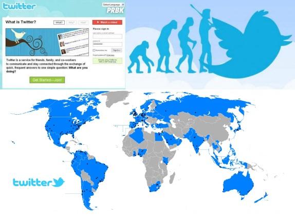 15 de Julho - 2006 — Lançamento do Twitter.