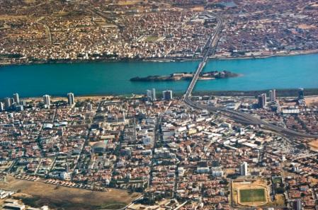 15 de Julho - Foto aérea das cidades de Juazeiro e Petrolina — Juazeiro (BA) — 139 Anos em 2017.