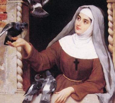 16 de Julho - 1194 - Clara de Assis, santa católica (m. 1253).