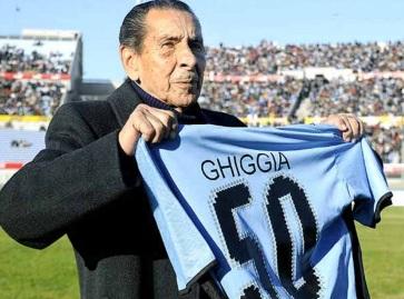 16 de Julho - 2015 — Alcides Ghiggia, futebolista uruguaio (n. 1926).