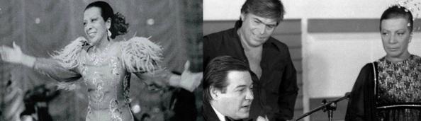 16 de Julho - Elizeth Cardoso - 1920 – 97 Anos em 2017 - Acontecimentos do Dia - Foto 4 - à direita, com Tom Jobim e Augusto Cesar Vanucci no programa Brasil 78, da TV Globo.