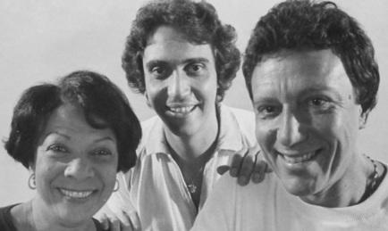 16 de Julho - Elizeth Cardoso - 1920 – 97 Anos em 2017 - Acontecimentos do Dia - Foto 7 - Com Zé Luiz Mazziotti e Silvio Cesar.