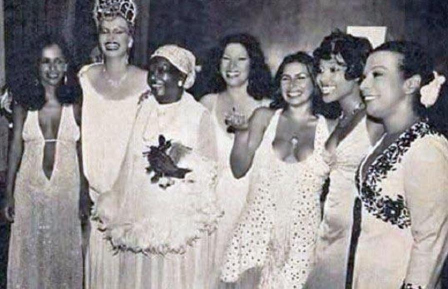 16 de Julho - Rio de Janeiro, Carnaval de 1978 - Gal Costa, Elke Maravilha, Clementina de Jesus, Clara Nunes, Fafá de Belém, Eliana Pittman e a divina Elizeth Cardoso. Foto 9.