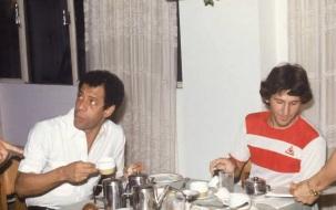 17 de Julho - Carlos Alberto Torres - 1944 – 73 Anos em 2017 - Acontecimentos do Dia - Foto 9 - Com Zico - 1983