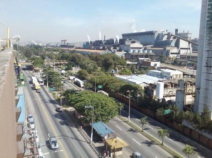 17 de Julho - Companhia Siderúrgica Nacional e Rodovia Lúcio Meira, altura do bairro Vila Santa Cecília — Volta Redonda (RJ) — 63 Anos em 2017.