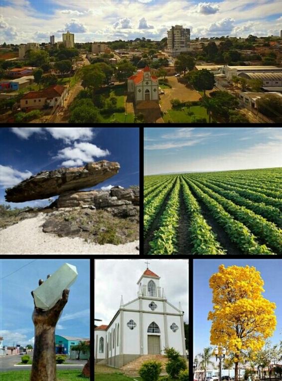 18 de Julho - Pontos turísticos — Cristalina (GO) — 101 Anos em 2017.