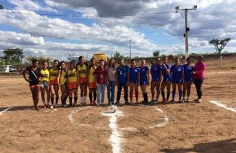 19 de Julho - Torneio de futebol feminino — Cristópolis (BA) — 55 Anos em 2017.