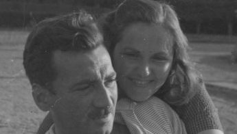 2 de Julho - Jorge Amado e Zélia Gattai, jovens.