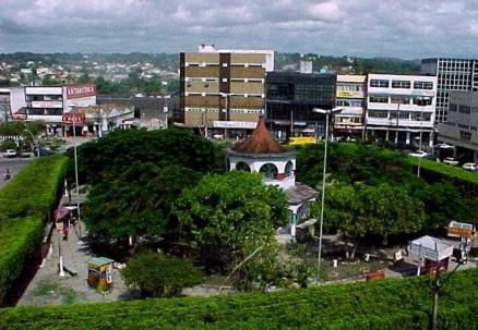 2 de Julho - Vista aérea do setor industrial — Alagoinhas (BA) — 164 Anos.