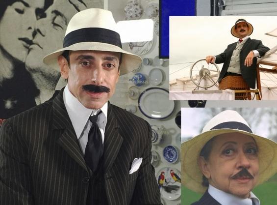 20 de Julho - Santos Dumont – 1873 – 144 Anos em 2017 – Acontecimentos do Dia – Foto 26 - No cinema e na TV, por interpretado por Cássio Scapin, Daniel de Oliveira e Fernanda