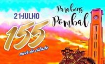 21 de Julho - Aniversário da cidade — Pombal (PB) — 155 Anos em 2017.