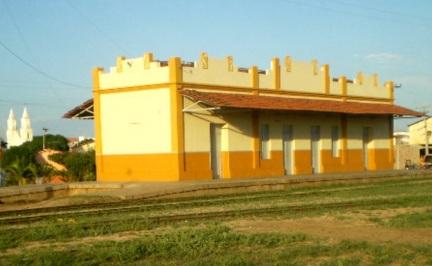 21 de Julho - Antiga Estação Ferroviária na cidade construída no governo provisório de 1932 — Pombal (PB) — 155 Anos em 2017.
