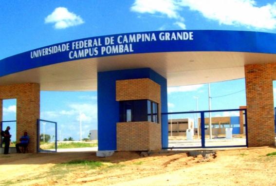 21 de Julho - Campus da UFCG no bairro Pereiros — Pombal (PB) — 155 Anos em 2017.