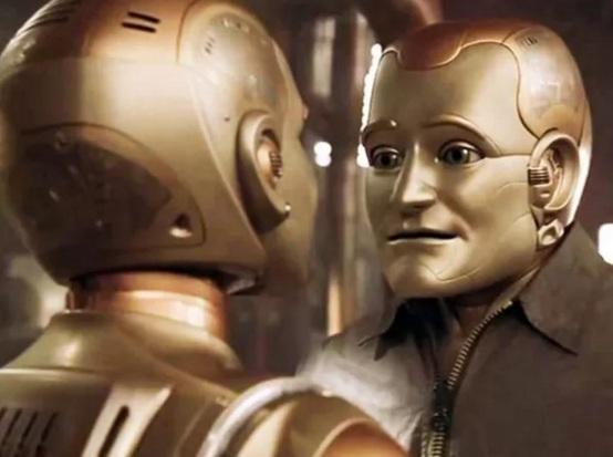 21 de Julho - Robin Williams - 1951 – 66 Anos em 2017 - Acontecimentos do Dia - Foto 13 - Como um robô.