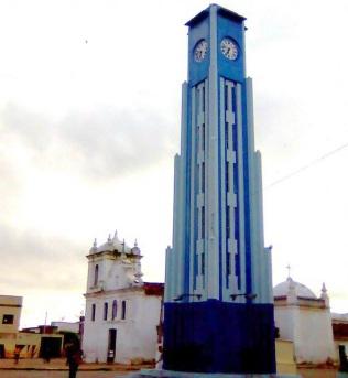 21 de Julho - Torre do relógio — Pombal (PB) — 155 Anos em 2017.