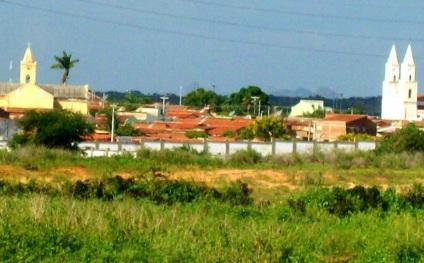 21 de Julho - Visão da cidade pela saída do Bairro dos Pereiros — Pombal (PB) — 155 Anos em 2017.