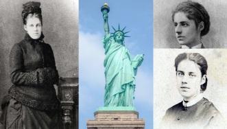 22 de Julho - 1849 - Emma Lazarus, poetisa estadunidense (m. 1887).