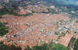 22 de Julho - Foto aérea da cidade — Juazeiro do Norte (CE) — 106 Anos em 2017.