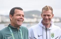22 de Julho - Torben Grael - 1960 – 57 Anos em 2017 - Acontecimentos do Dia - Foto 5 - Jogos Olímpicos Rio 2016, na Baía de Guanabara, com Robert Scheidt.