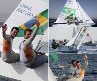 22 de Julho - Torben Grael - 1960 – 57 Anos em 2017 - Acontecimentos do Dia - Foto 9 - Com Marcelo Ferreira na conquista da medalha de ouro nos Jogos Olímpicos de Atenas de 2004.