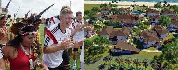 23 de Julho - Alojamento da Seleção Alemã — Santa Cruz Cabrália (BA) — 184 Anos em 2017.
