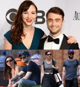 23 de Julho - Daniel Radcliffe - 1989 – 28 Anos em 2017 - Acontecimentos do Dia - Foto 14 - Com a namorada Erin Darke.
