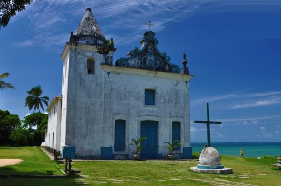 23 de Julho - Igreja de Nossa Senhora da Conceição — Santa Cruz Cabrália (BA) — 184 Anos em 2017.