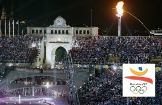 25 de Julho - 1992 – Abertura dos Jogos Olímpicos de Verão de 1992 em Barcelona.