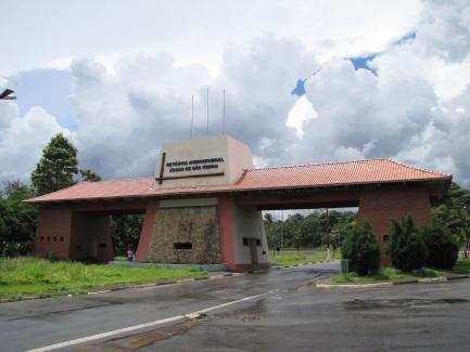 25 de Julho - Pórtico - Entrada da cidade — Águas de São Pedro (SP) — 77 Anos em 2017.