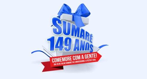 26 de Julho - Aniversário da cidade — Sumaré (SP) — 149 Anos em 2017.