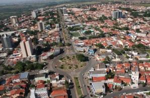 26 de Julho - Imagem aérea da cidade — Sumaré (SP) — 149 Anos em 2017.