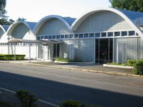 27 de Julho - Biblioteca do ITA, desenhada por Oscar Niemeyer — São José dos Campos (SP) — 250 Anos em 2017.