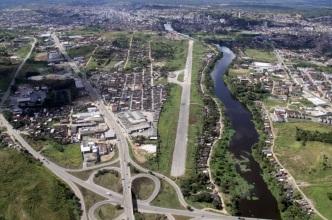 28 de Julho - Imagem aérea da cidade — Itabuna (BA) — 107 Anos em 2017.