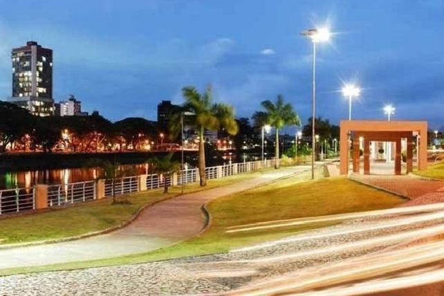28 de Julho - Vista noturna da cidade — Itabuna (BA) — 107 Anos em 2017.