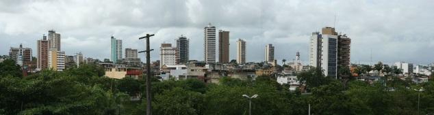 28 de Julho - Vista panorâmica da cidade — Itabuna (BA) — 107 Anos em 2017.