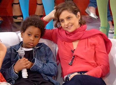 29 de Julho - Drica Moraes - 1969 – 48 Anos em 2017 - Acontecimentos do Dia - Foto 16 - Com seu filho, Mateus.