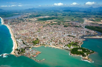 29 de Julho - Foto aérea da cidade — Macaé (RJ) — 204 Anos em 2017.