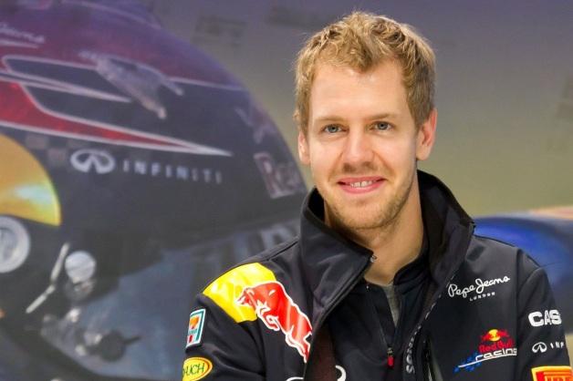 3 de Julho - 1987 – Sebastian Vettel, piloto alemão de Fórmula 1.