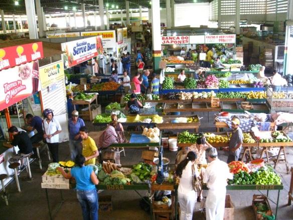 3 de Julho – Interior do Mercado Municipal — Montes Claros (MG) — 160 Anos.