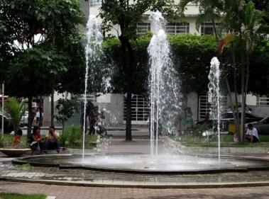 3 de Julho – Praça da Matriz, no centro da cidade — Montes Claros (MG) — 160 Anos.