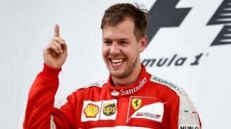 3 de Julho – Sebastian Vettel, piloto alemão de Fórmula 1.